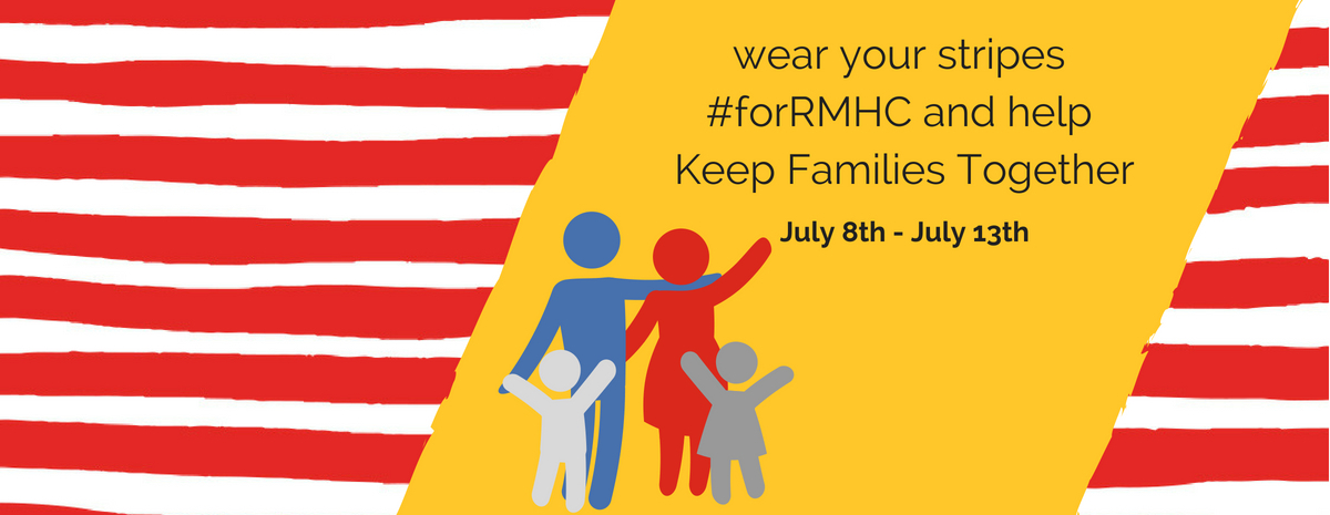 Wear Your Stripes #forRMHC